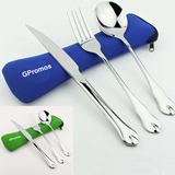 Portable Frok Spoon Knife Set