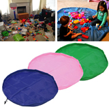 Portable Kids Toys Play Mat Blanket Storage Bag