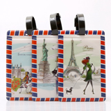 Promotional Fashion Personality PVC Luggage Tag