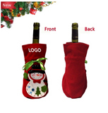 Quality Christmas Red Wine Covers