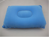 Rectangle PVC  flocking inflatable pillow