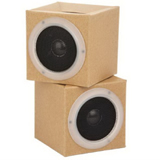 Recycled Foldable Cardboard Speaker