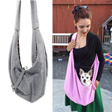 Reversible Pet Sling Carrier Bag