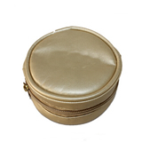 Roundness Gold Pu Coin Purse