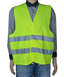 Safety Vest W/ Reflective Strips