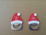 Santa shape bottle opener