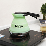Silicone Folded Outdoor Portable Boiling Kettle