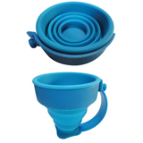Silicone Folding Cup with Handle made of silicone