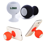 Silicone Phone Stand Speaker