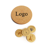 Soft Cork Wood Cup Coasters / Mats