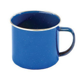 Speckled Enamel Steel Camping Mug
