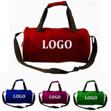 Sports Bag With Zipper, Strap & Handle