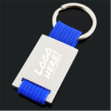 Square Metal Key Tag