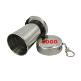 Stainless Steel Foldable Travel Cup (Six-Section)