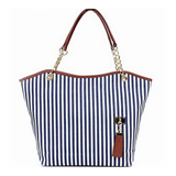 Stripe Tote Bag On Sale