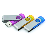 Swivel USB Flash Drive - 2 GB