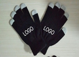 Touch screen gloves with 5 fingers