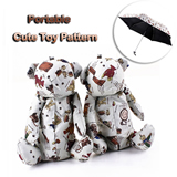 Toy Pattern Portable Umbrella