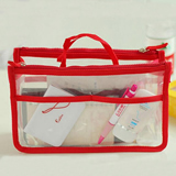 Travel Clear Pvc Cosmetics Handbag