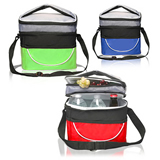Two Compartment Cooler Lunch Bag