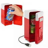 USB mini fridge, cooler and warmer 2in1