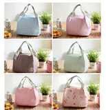 Wholesale beautifel zipper tote style cute bulk cooler bag