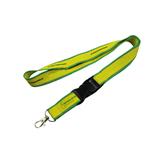 Woven Lanyard With Reflective Stitching
