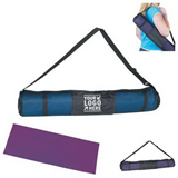 Yoga mat with carrying bag